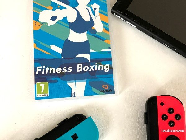 test jeu siwtch fitness boxing