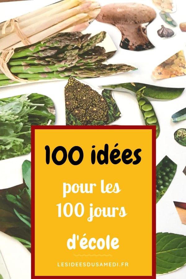 cent idees pour 100 jours ecole