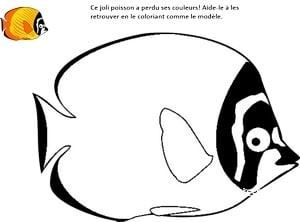 extrait poisson avril imprimable