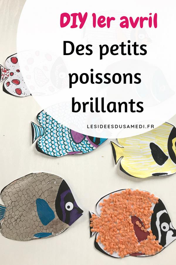 poissons activites manuelles avril telecharger
