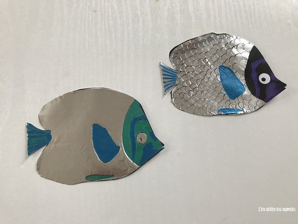 poissons facile fabriquer activite avril