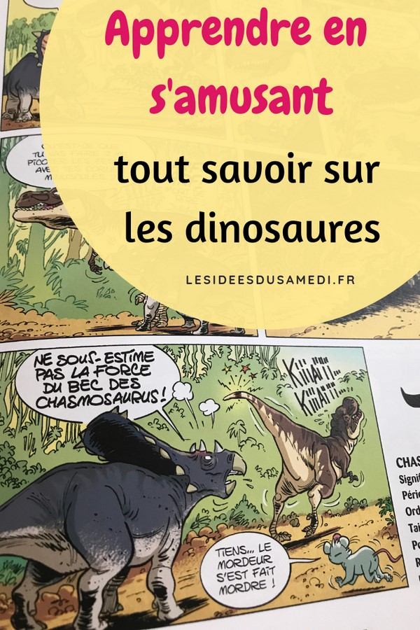 apprendre en samusant dinosaures