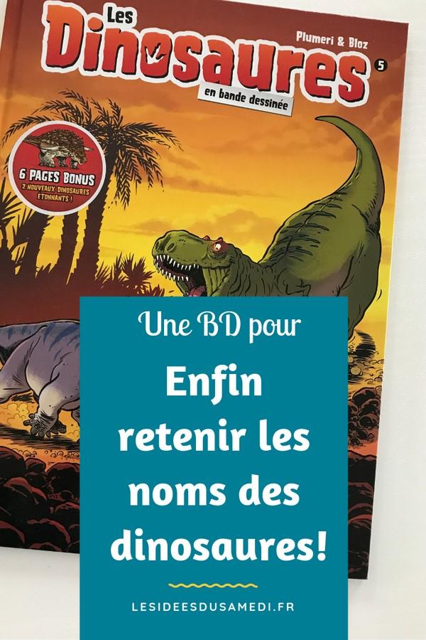 bande dessinee amusante sur les dinosaures