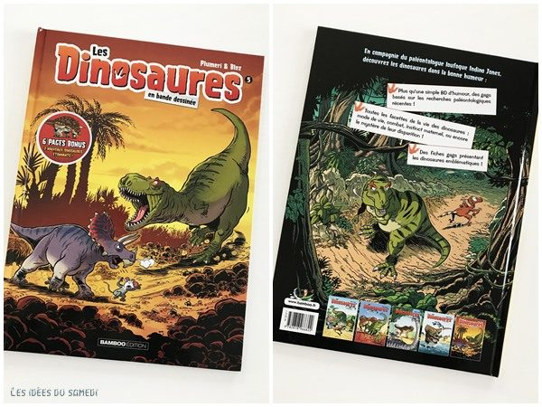 bande dessinee amusante dinosaures