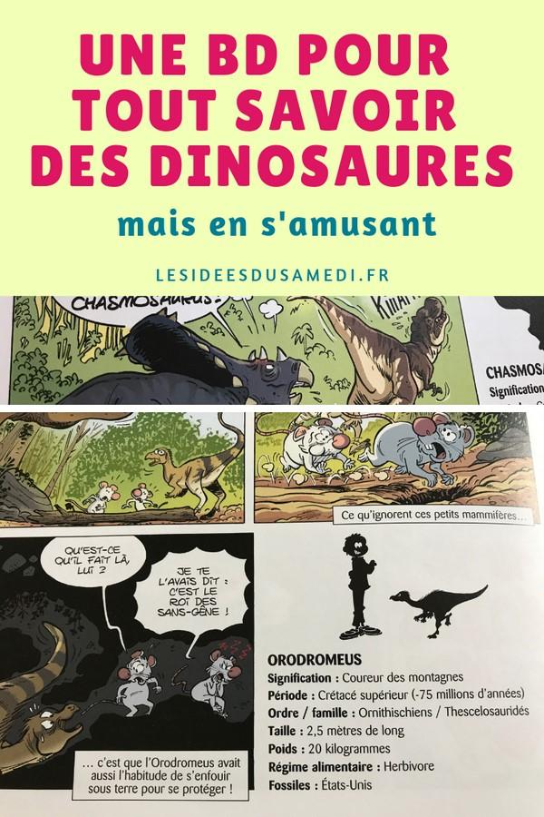 une bd sur les dinosaures