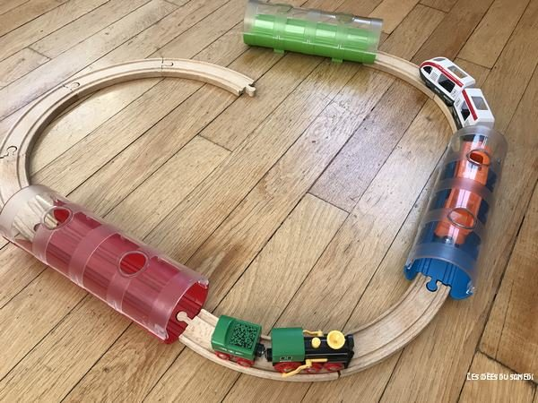 integration coffret train tunnel brio