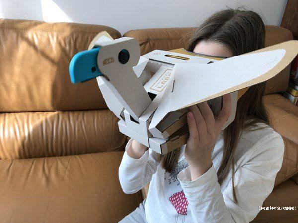nintendo labo toycon realite virtuelle
