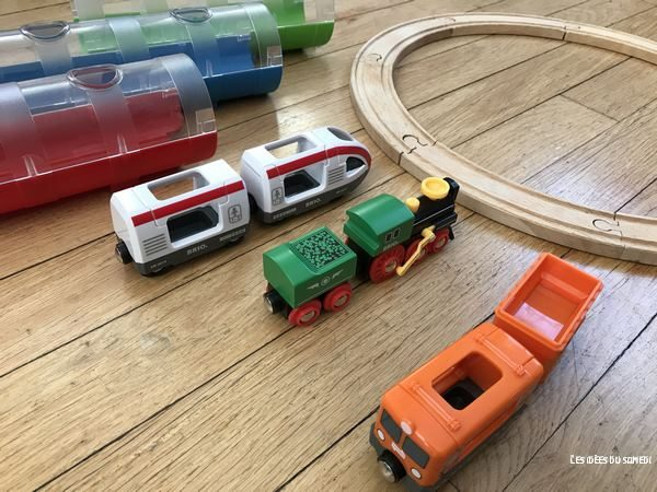 train tunnel brio coffret