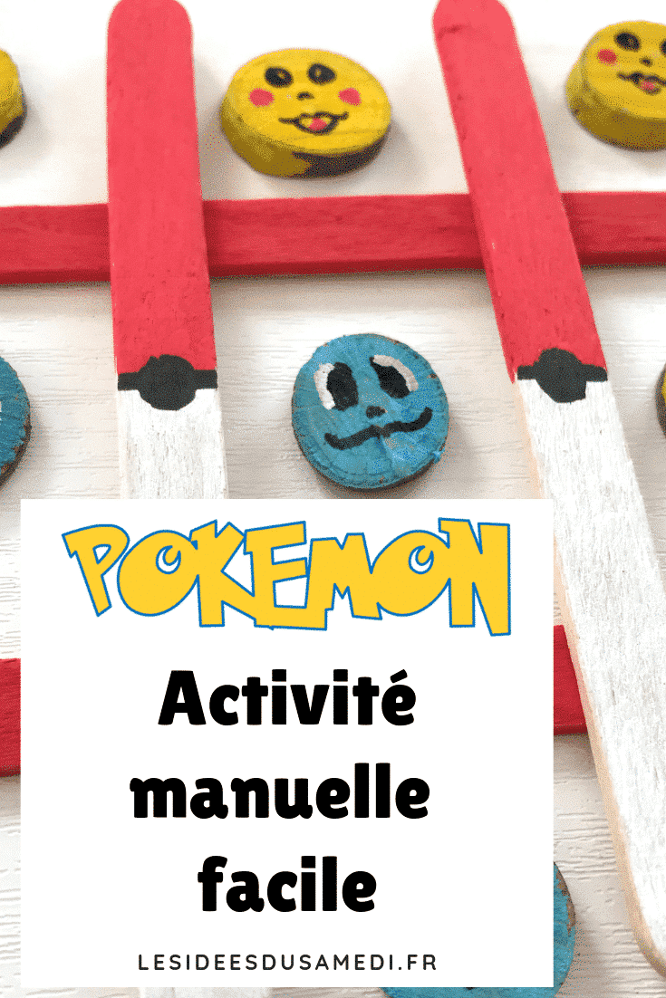 activite enfant pokemon