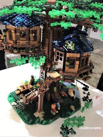 cabane arbre plastique vegetal lego