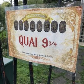 quai poudlard express imprimer