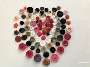 fabriquer coeur boutons
