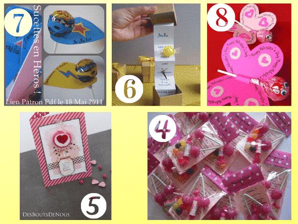 selection invitations bonbons blogs
