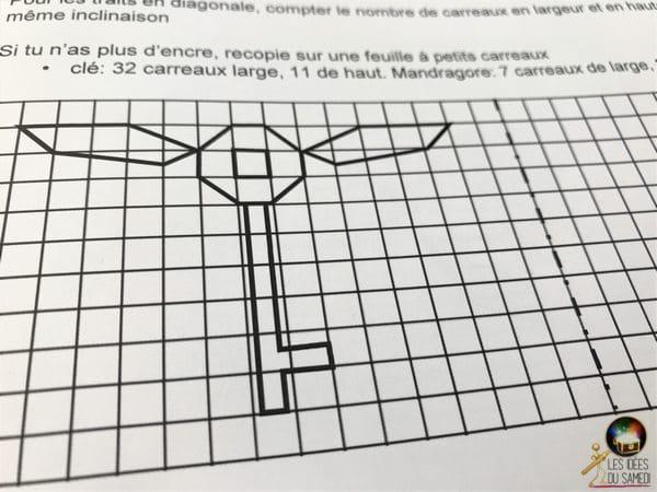 octogone symetrie axiale amusante