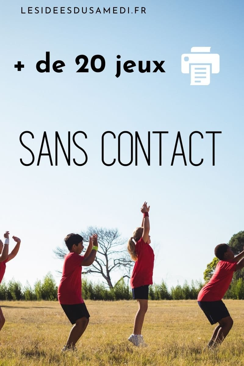 idees jeux groupe sans contact