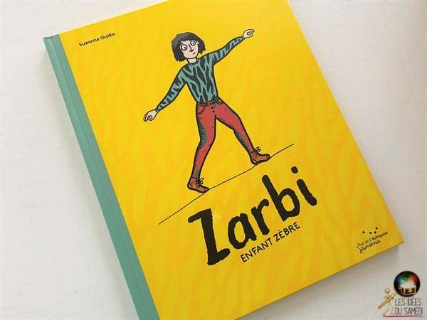 livre enfant zebre zarbi